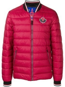 Moose Knuckles zipped padded jacket - Red