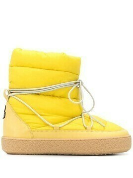 Isabel Marant Zimlee padded ankle boots - Yellow