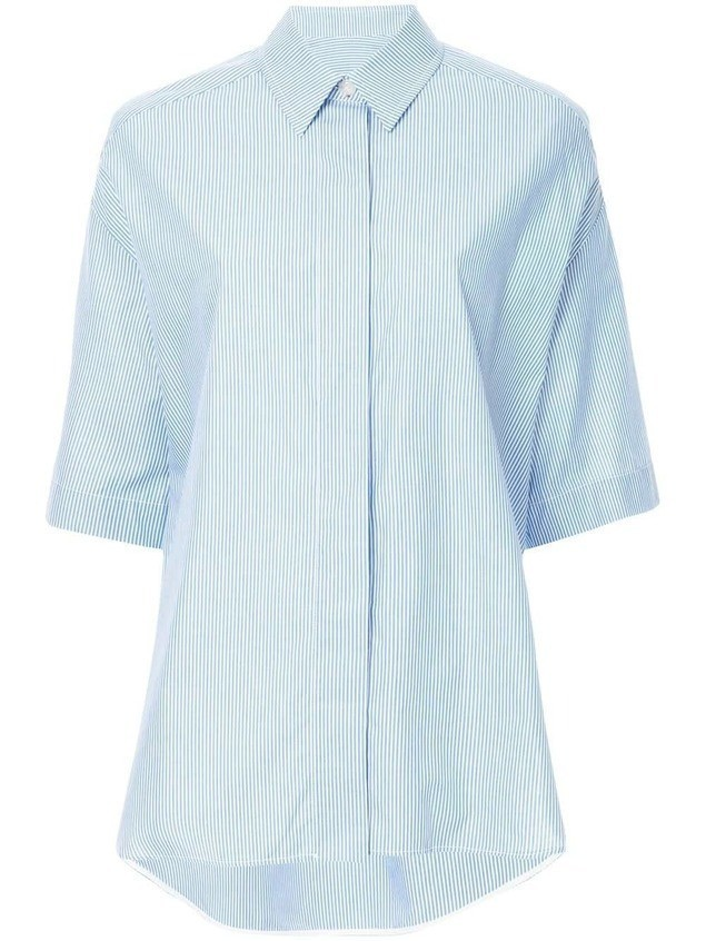 Walk Of Shame Double Sleeved Shirt - Blue