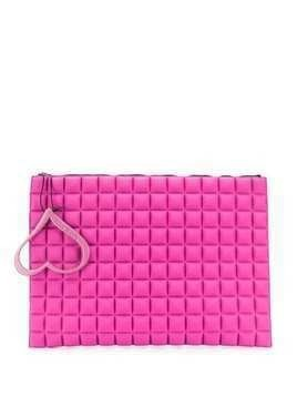 No Ka' Oi large Space Pouch clutch bag - PINK