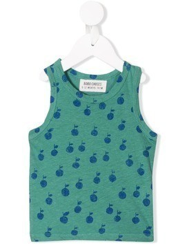 Bobo Choses apples tank - Green