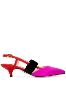 Andrea Gomez Greta slingback pumps - Red