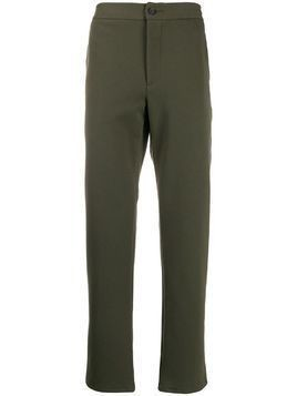 Harris Wharf London mid-rise tapered trousers - Green