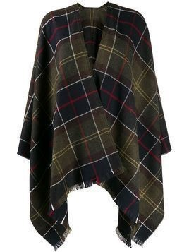 Barbour Staffin tartan serape - Green