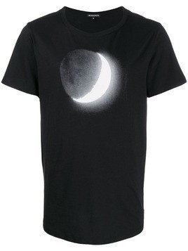 Ann Demeulemeester relaxed-fit moon print T-shirt - Black