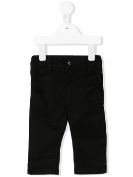 Boss Kids stitching detail jeans - Black