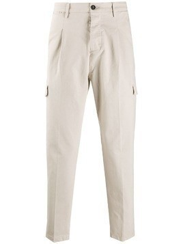 Al Duca D'Aosta 1902 cargo pocket slim-fit chinos - NEUTRALS