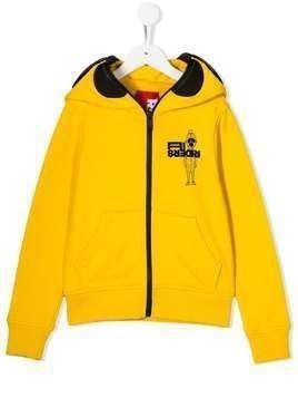 AI Riders on the Storm zip-up jacket - Yellow