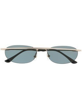 KYME Morgan oval frame sunglasses - Silver