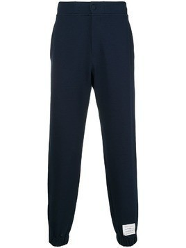 Thom Browne tech-knit track pants - Blue