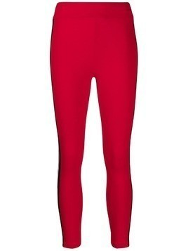 Gcds logo band leggings - Red