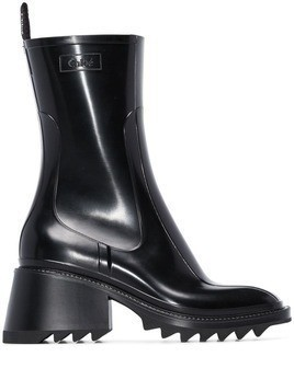 Chloé Betty 50mm rain boots - Black