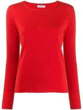 Majestic Filatures cashmere long-sleeve jumper - ORANGE