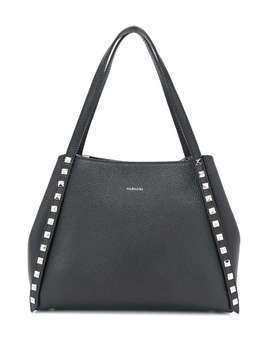 Albano small studded tote - Black