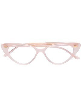 Cutler & Gross cat-eye glasses - PINK