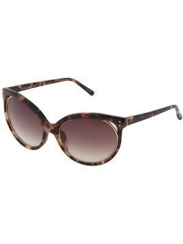 Linda Farrow cat eye sunglasses - Brown