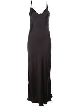 Mes Demoiselles Leomie maxi slip dress - Black