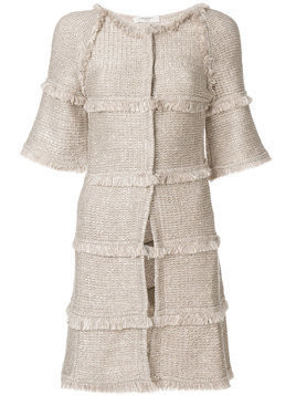 Charlott shortsleeved coat - Neutrals