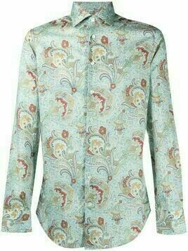 Etro paisley-print cotton shirt - Blue