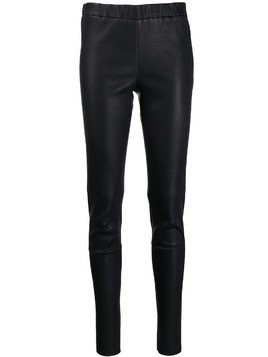 Arma skinny leather trousers - Black