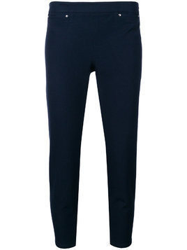 Max & Moi cropped tapered trousers - Blue