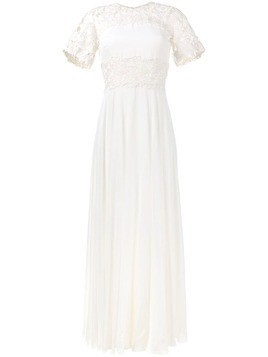 Giambattista Valli macrame lace dress - White
