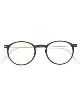 Lindberg round frame optical frames - Black