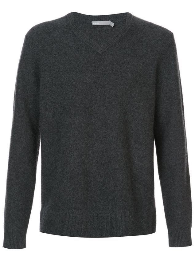 Vince v-neck jumper - Grey