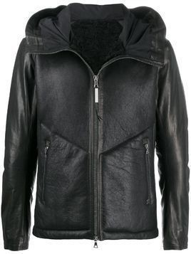 Isaac Sellam Experience hooded zipped jacket - Black