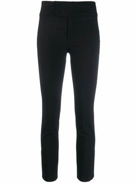 Isabel Marant skinny cropped trousers - Black