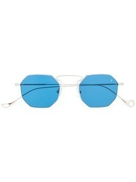 Eyepetizer square shaped sunglasses - SILVER