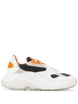 Axel Arigato colour block sneakers - White