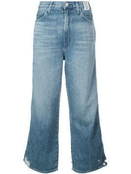 AMO high rise wide leg jeans - Blue