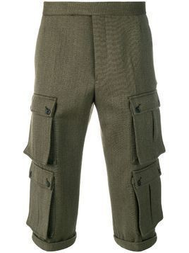 Thom Browne Norfolk Straight-leg Trouser - Green