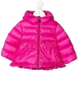 Moncler Kids short padded jacket - Pink