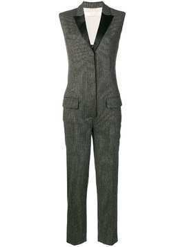 Tela tailored jumpsuit - Black