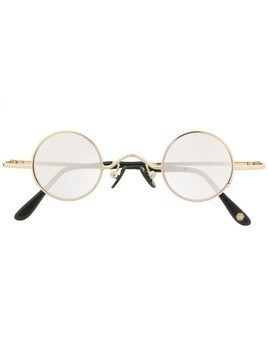 KYME round frame sunglasses - Gold