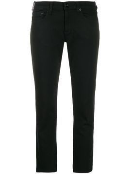 Rag & Bone slim cropped trousers - Black