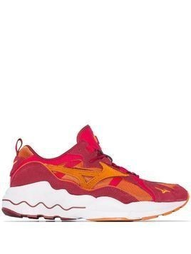 Mizuno Wave Rider 1S low top sneakers - Red