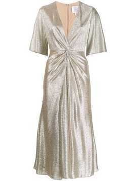 Galvan Stella dress - Gold