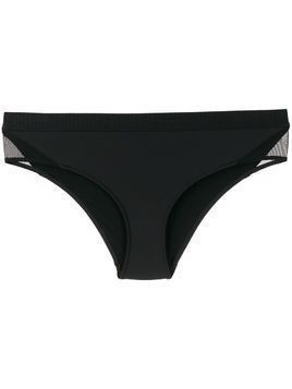 Stella McCartney sheer-panel bikini bottoms - Black