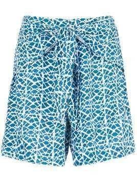 Tufi Duek printed shorts - Blue