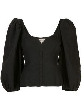 Mara Hoffman Eliana balloon sleeves blouse - Black