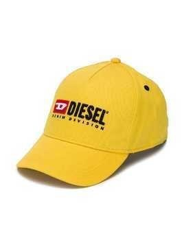 Diesel Kids embroidered logo cap - Yellow