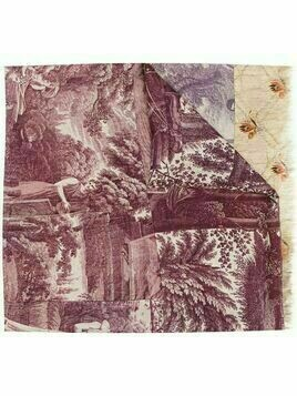 Pierre-Louis Mascia abstract-print silk scarf - Purple