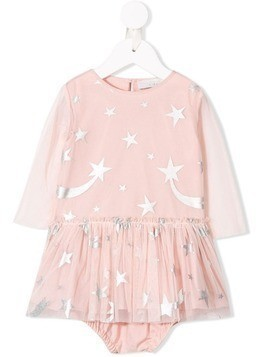 Stella McCartney Kids star-print dress - Pink
