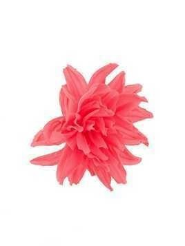 Erika Cavallini large flower brooche - Pink & Purple
