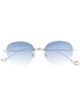 Eyepetizer Cary frameless sunglasses - Silver