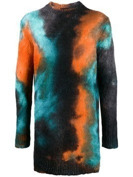 Mauna Kea tie dye sweatshirt - Orange