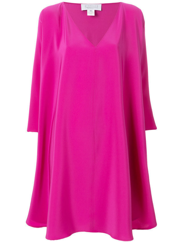 Gianluca Capannolo floaty shift dress - Pink